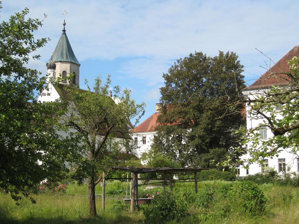 Fotos des Klostergartens